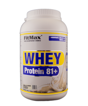 FitMax Whey Protein 81+ (2,25 kg)
